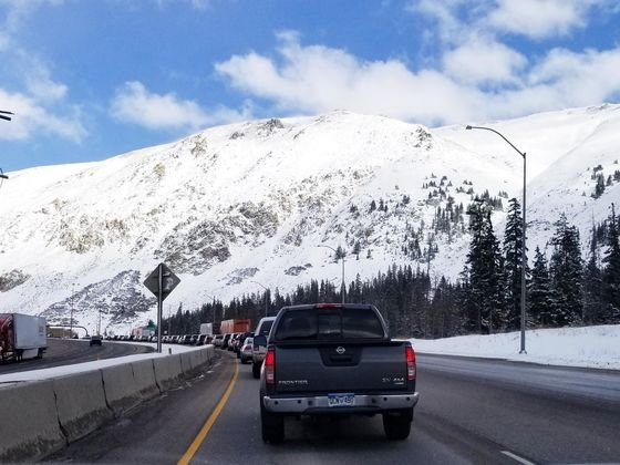 Colorado Road Conditions on the I-70